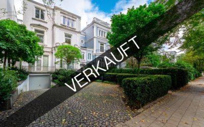 Hamburg – Rotherbaum | Stadtvilla in exklusiver Wohnlage mit weitläufigen Grundstück & Alster-Nähe